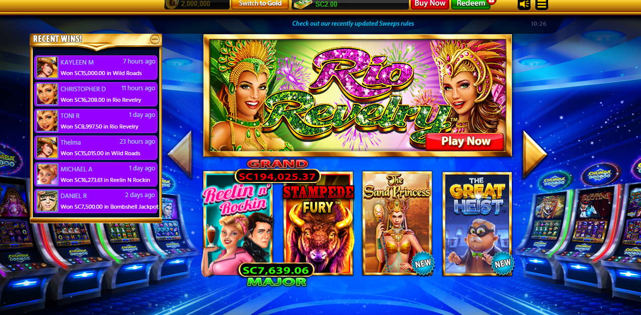 Chumba Casino Review Real Money Casino For Us Players